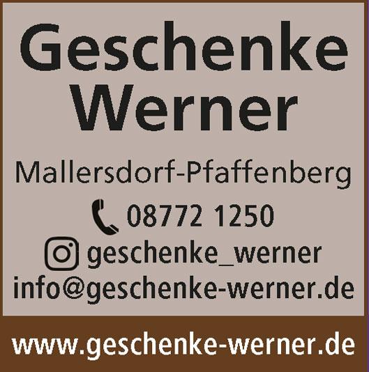 Geschenke-Werner
